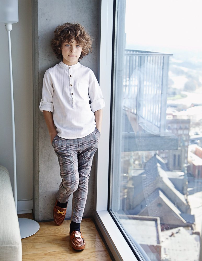 child modeling photo shoot examples
