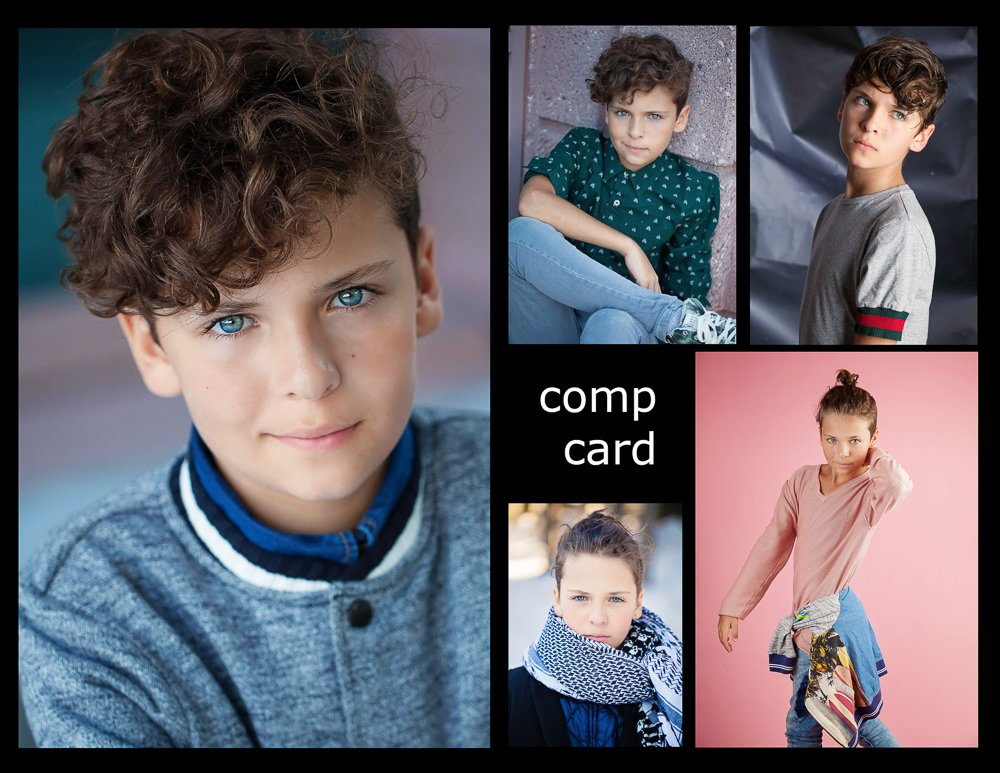 child modeling portfolio